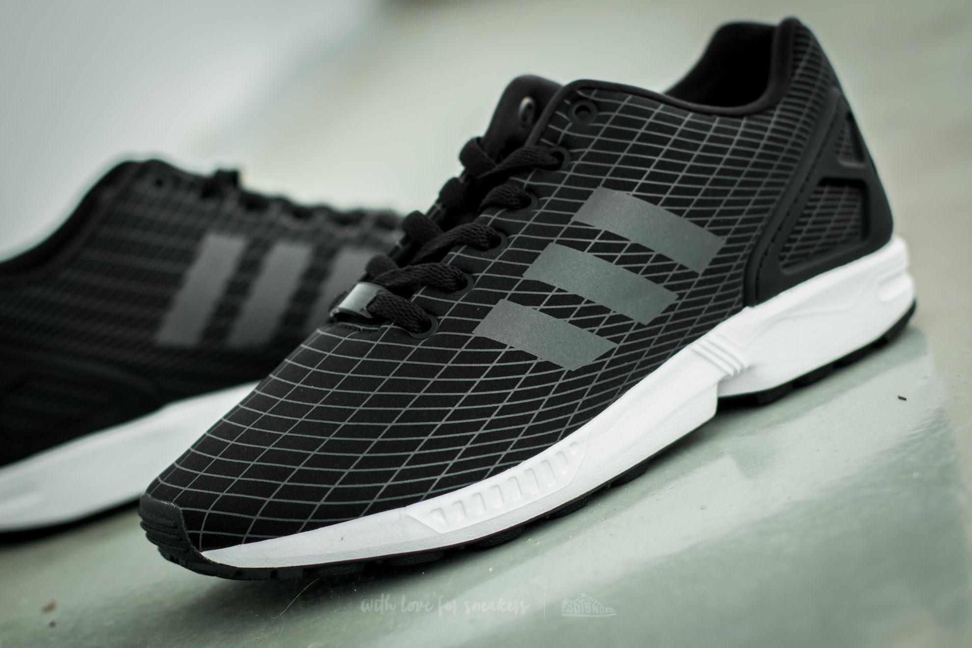 Lyst adidas Originals adidas zx Flux Core Negro / blanco / núcleo FTW