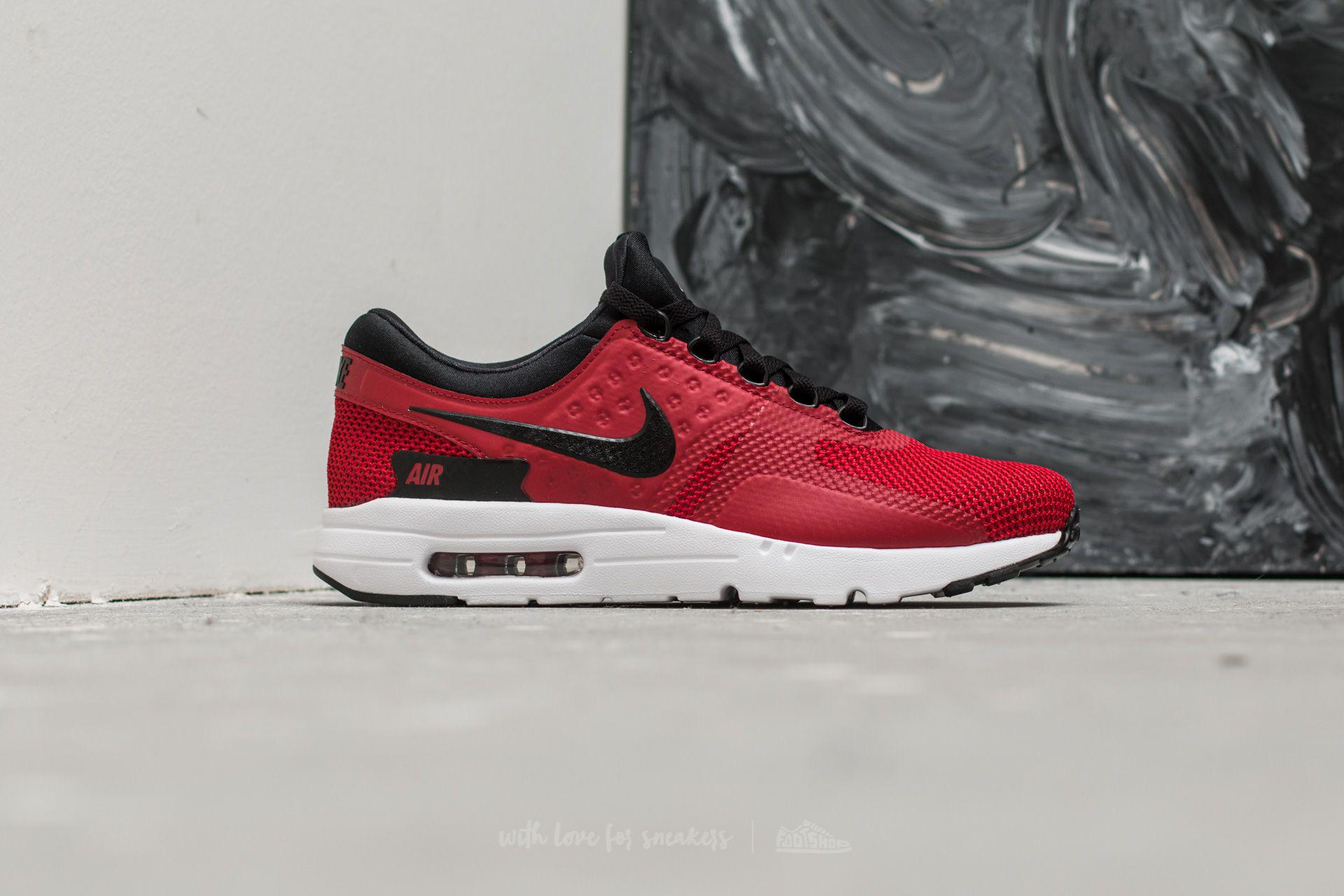 c1b6bc40c3 ... best price lyst nike air max zero essential tough red black white in  red for men