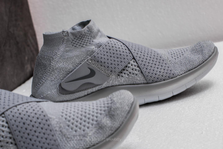 1788c4cd13133 Lyst - Nike W Free Rn Motion Flyknit 2017 Wolf Grey  Cool Grey in Gray