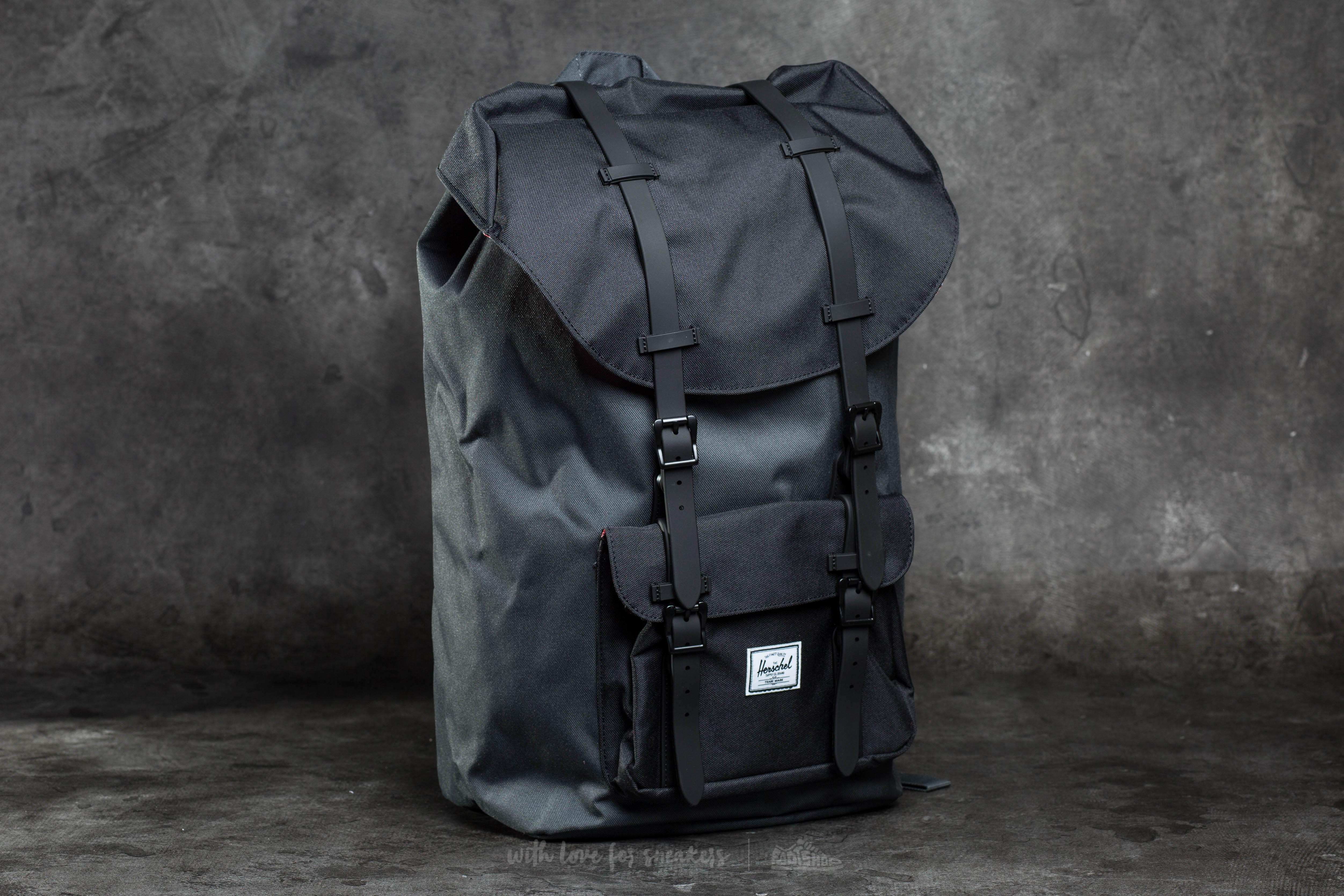 7d055ff6829 Lyst - Herschel Supply Co. Little America Backpack Dark Shadow ...