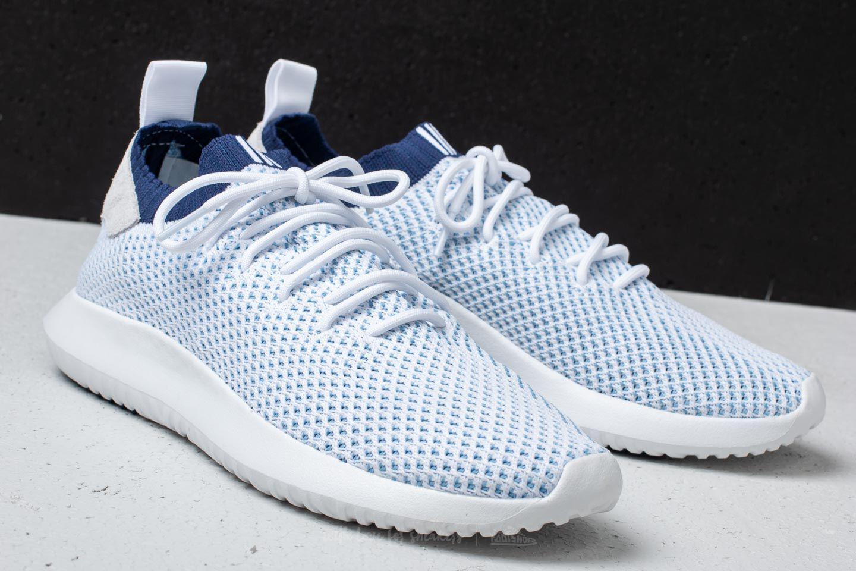 adidas Adidas Tubular Shadow Primeknit Ftw White/ Ftw White/ Noble Indigo CJk91OB57