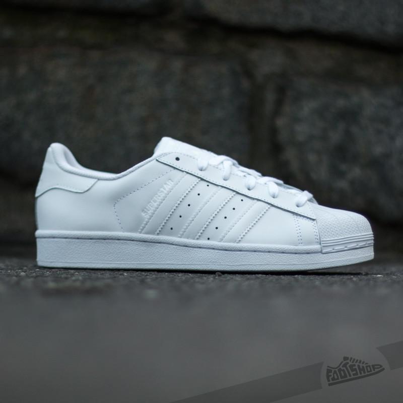 Lyst - adidas Originals Adidas Superstar Foundation J Ftwr White ... bee7163b718
