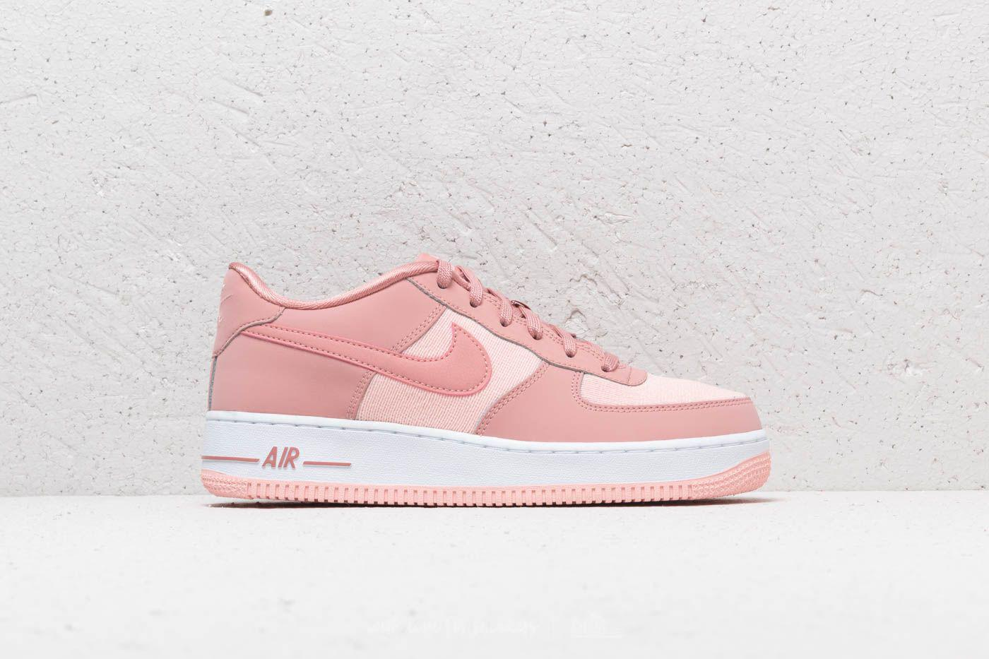official photos 8e56a c2de0 Nike Air Force 1 Lv8 (gs) Rust Pink  Rust Pink-storm Pink in Pink - Lyst