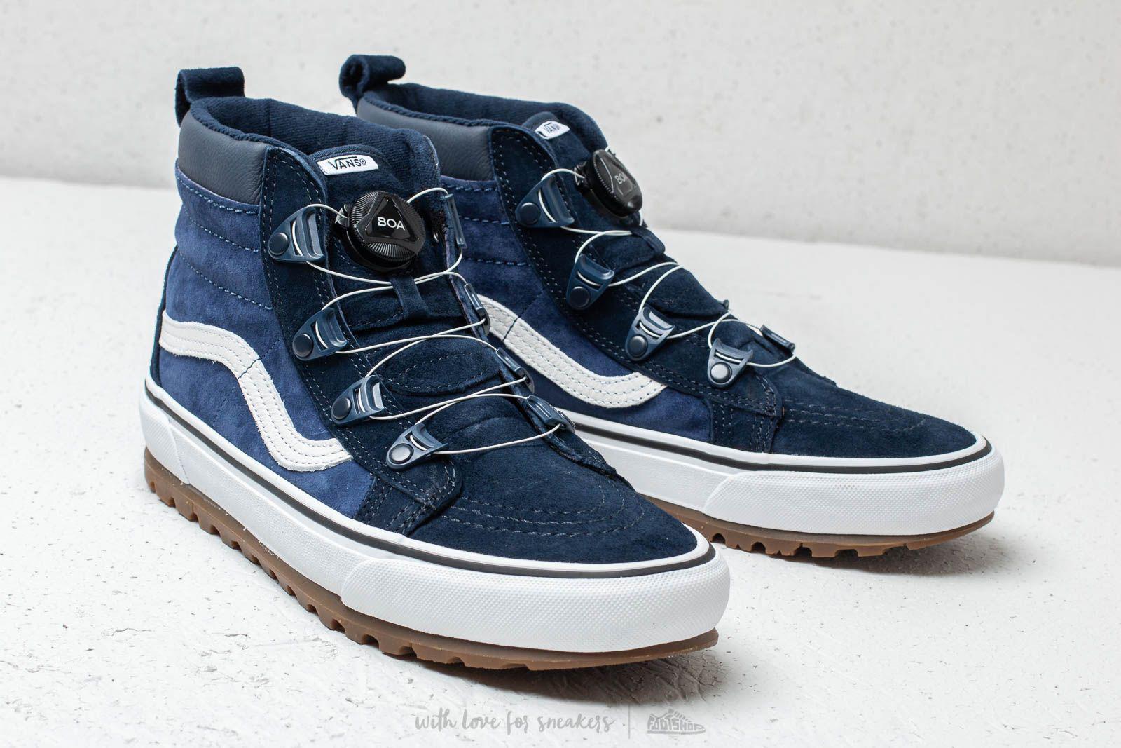 bf4ece1202 Lyst - Vans Sk8-hi Boa (mte) Navy  True White in Blue for Men