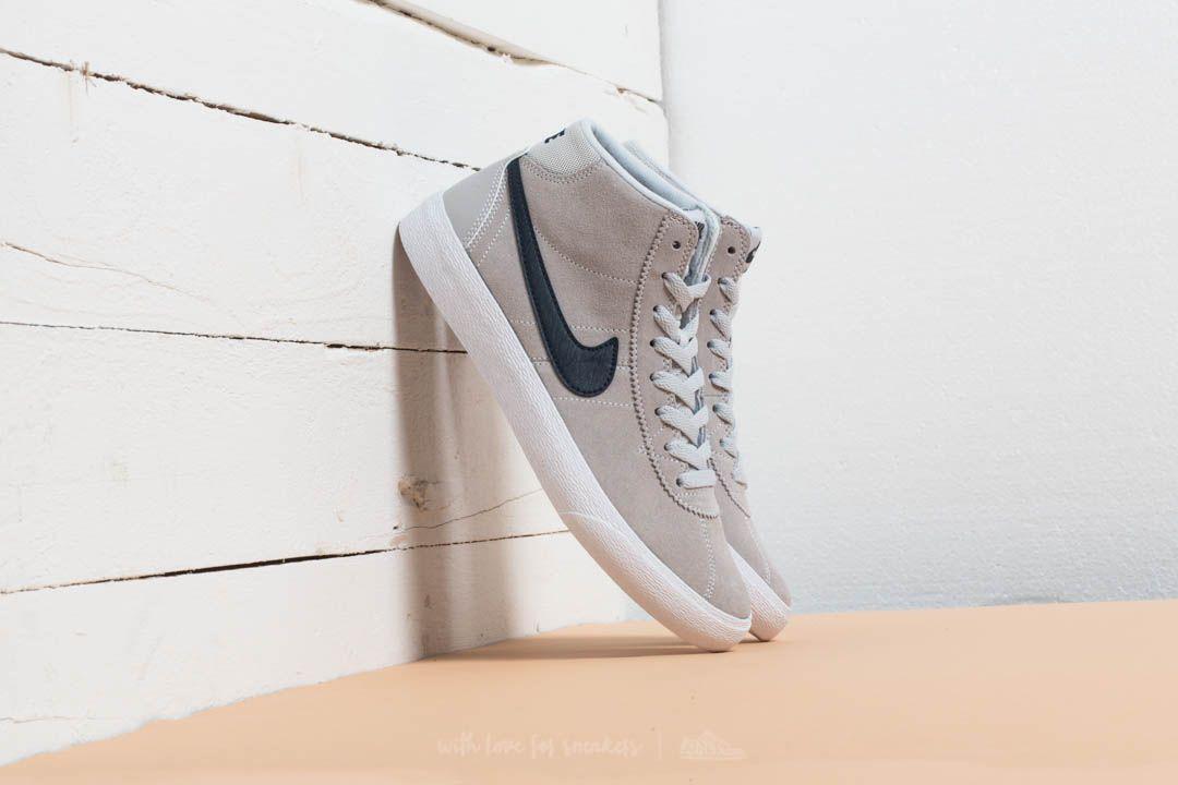 49be228d10 Lyst - Nike Wmns Sb Bruin Hi Pure Platinum  Obsidian-white in White