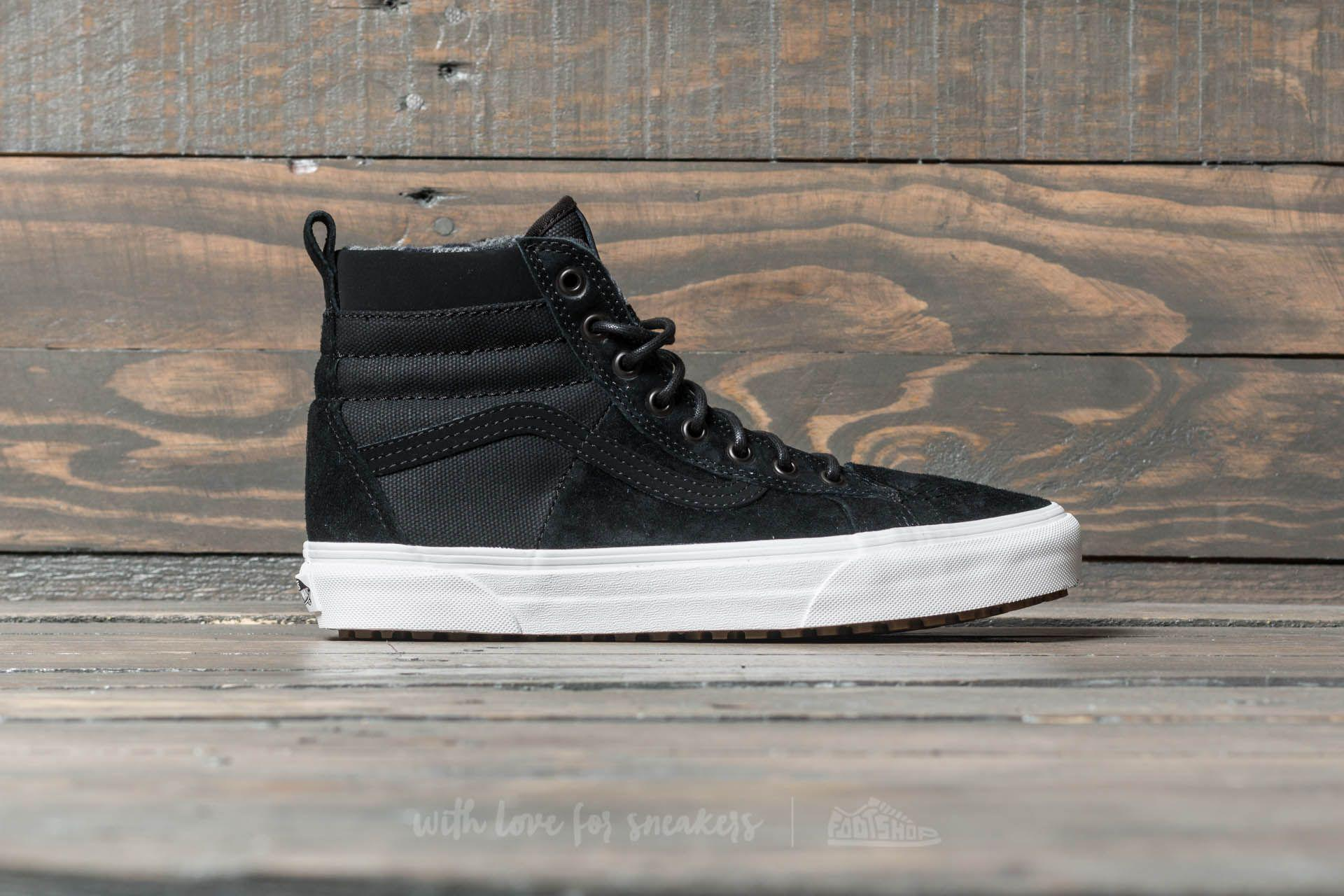 3e0d2c36304e Lyst - Vans Sk8-hi 46 Mte Dx Black  Flannel in Black for Men