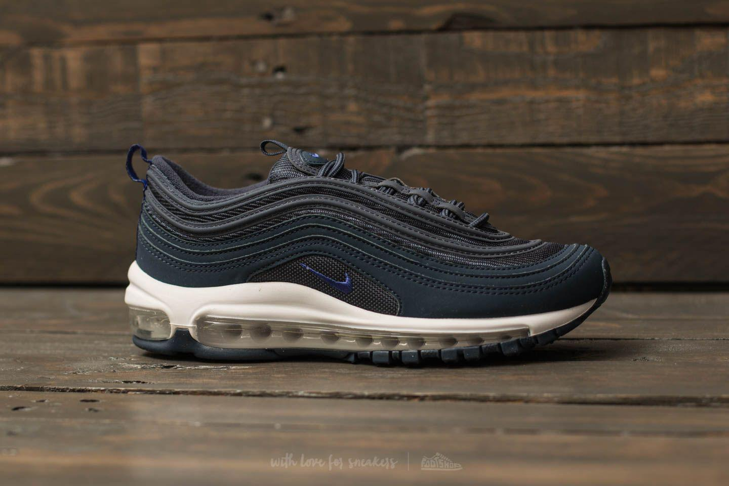 17233af9e3 Nike Air Max 97 (gs) Thunder Blue/ Persian Violet in Blue for Men - Lyst