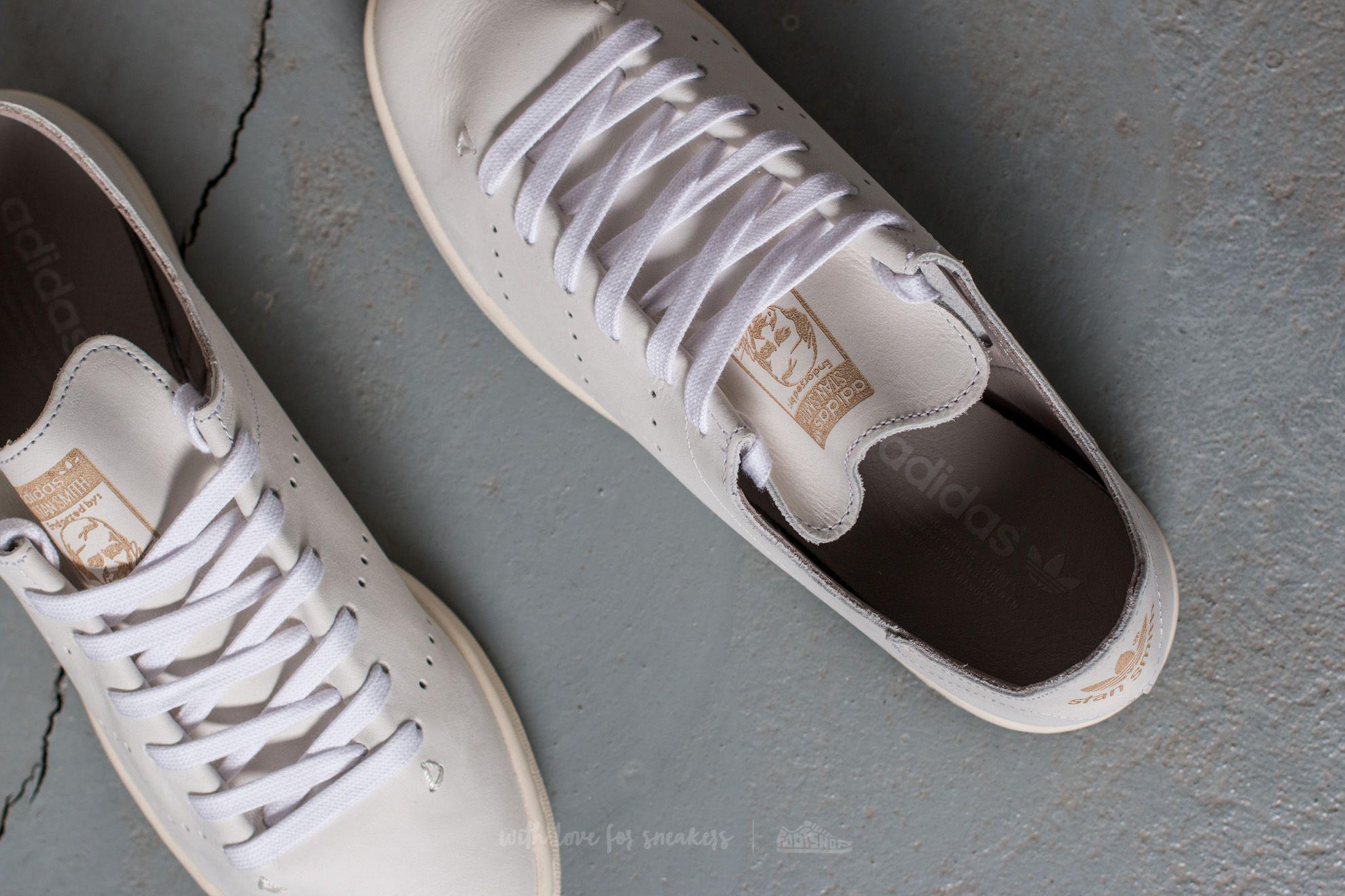 Lyst adidas Originals Adidas Stan Smith lea Sock FTW blanco / FTW