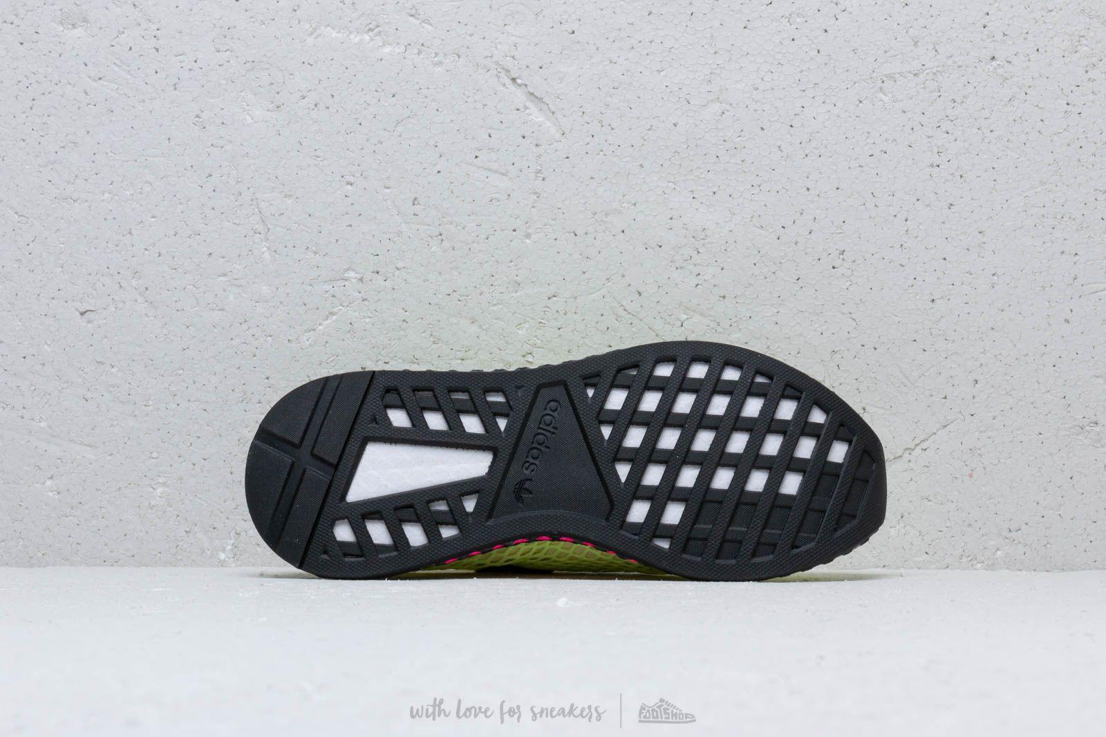 a16d40b7a9d Lyst - adidas Originals Adidas Deerupt Runner Hireye  Core Black ...