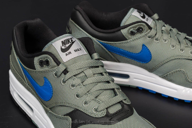7db4de5b0be8 Lyst - Nike Air Max 1 Premium Clay Green  Hyper Royal-white for Men