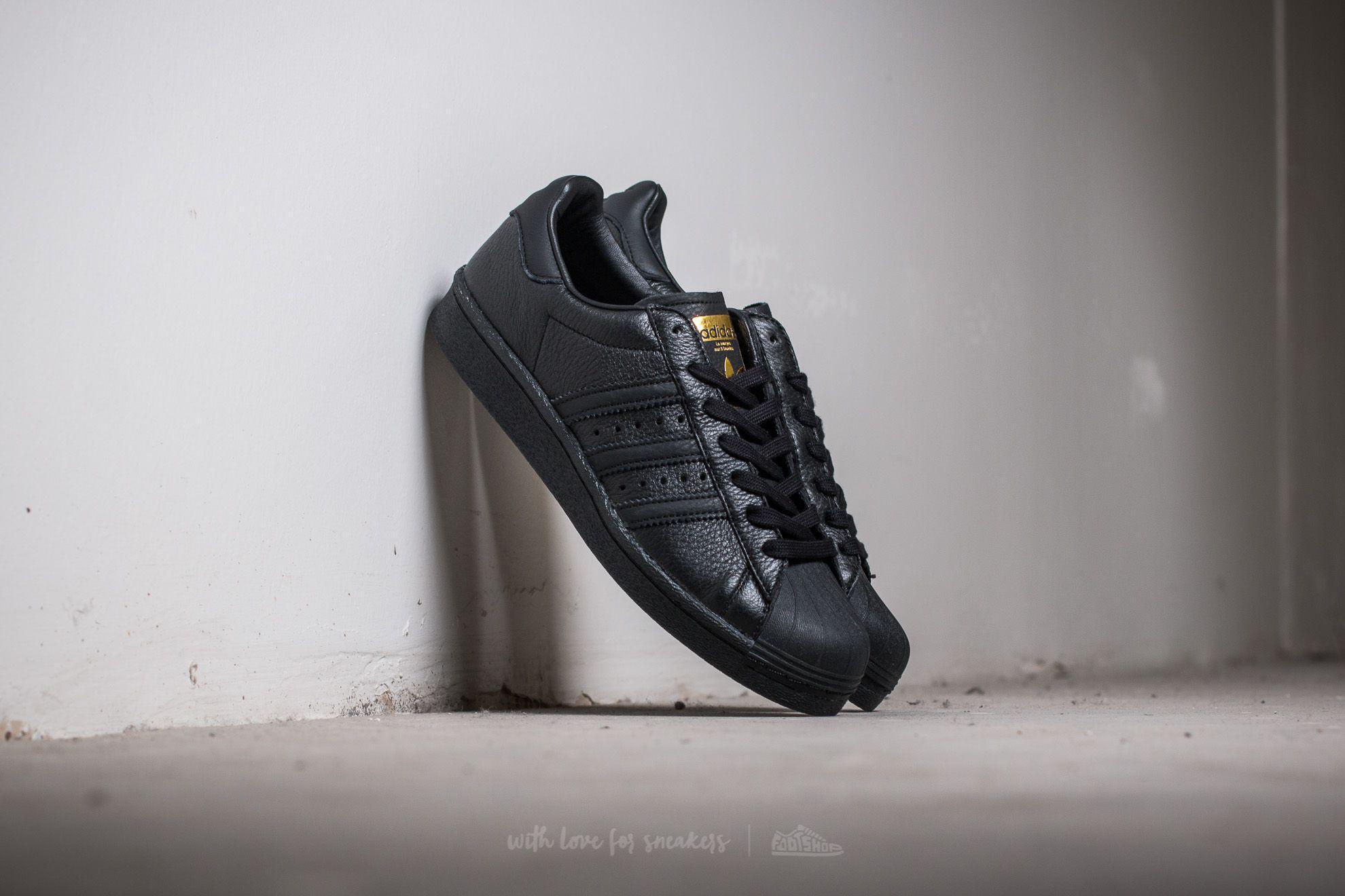 best loved 9a529 10e42 Lyst - adidas Originals Adidas Superstar Core Black Core Bla