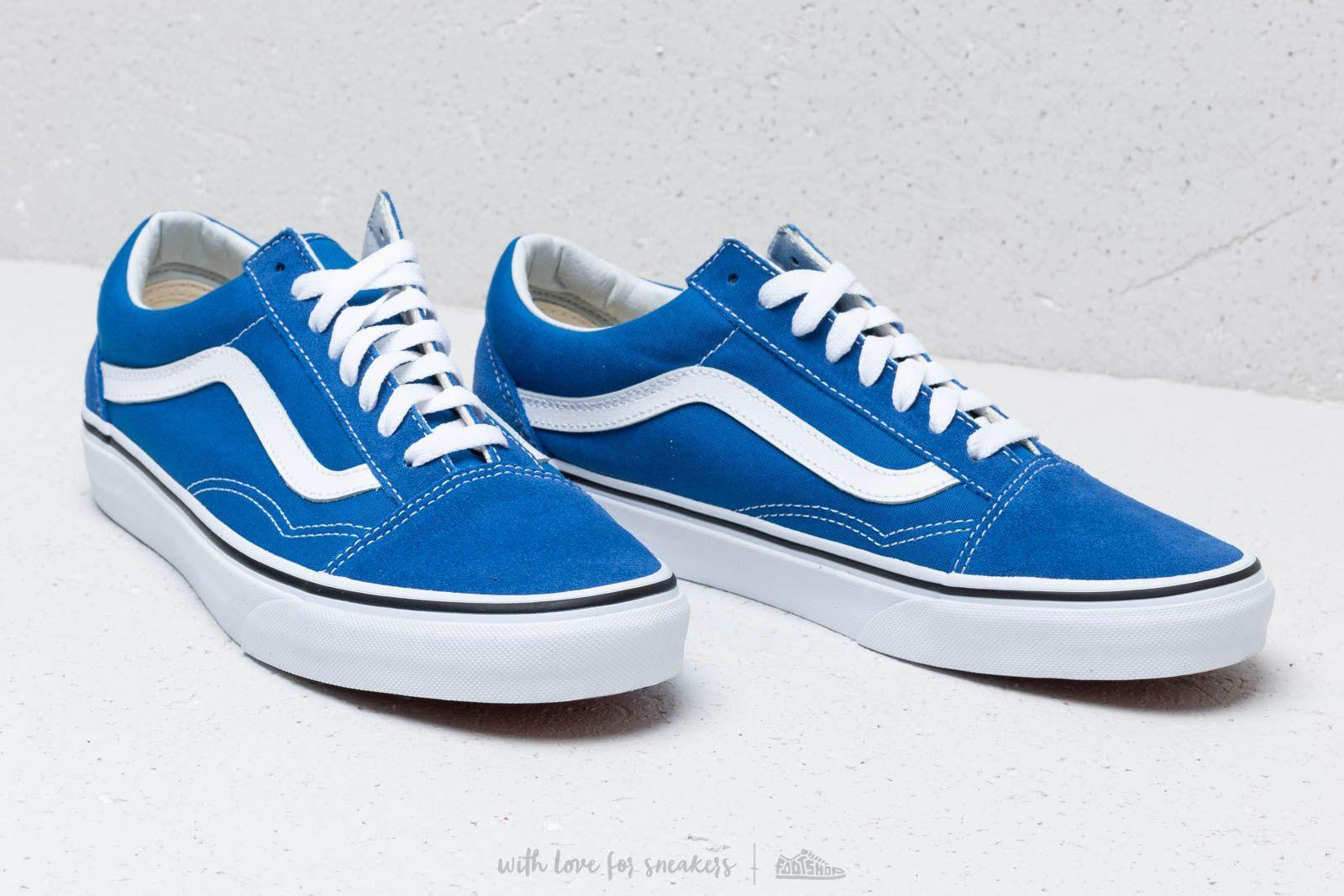 c3175323324f Vans Old Skool Lapis Blue/ True White in Blue for Men - Lyst