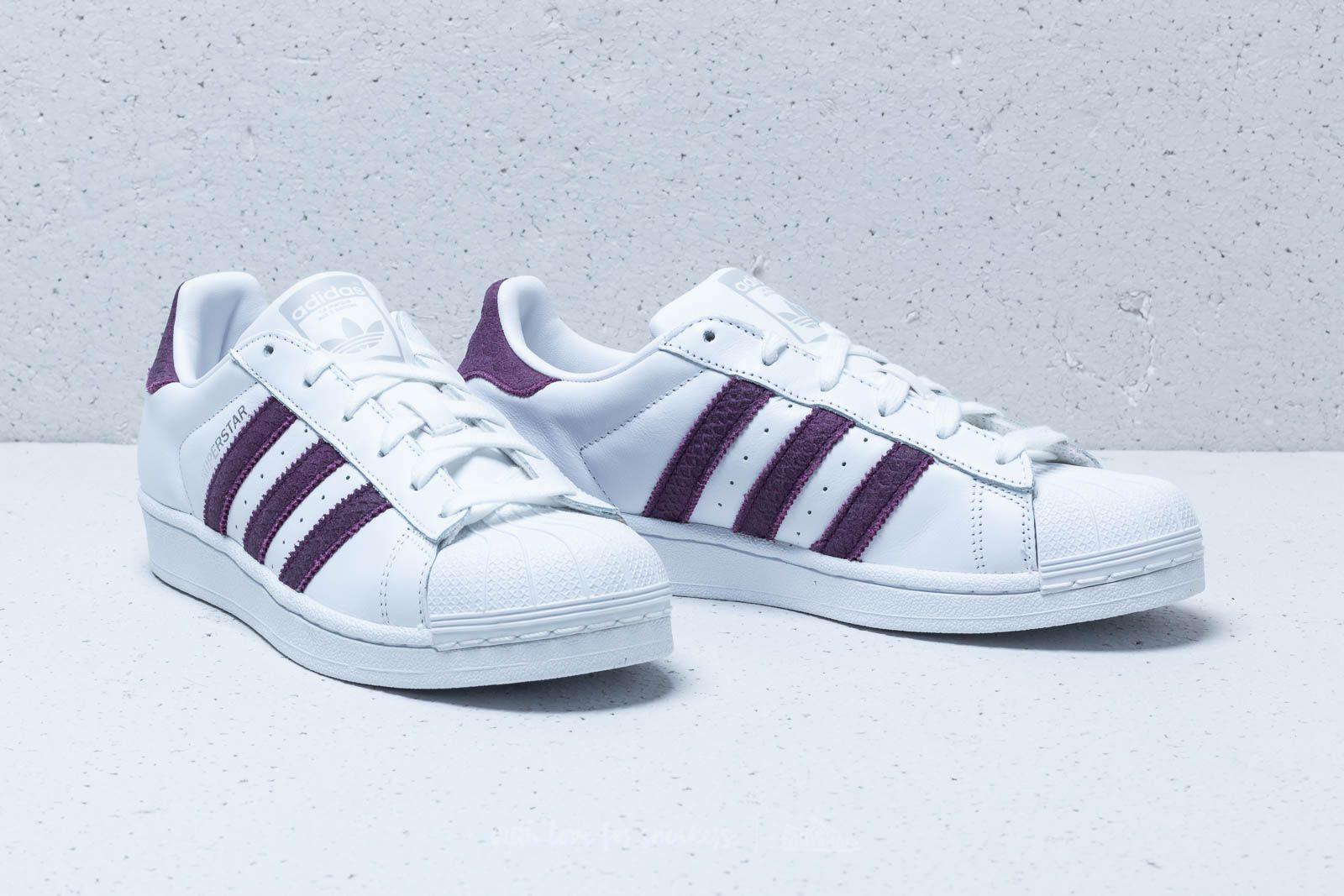 ed364e0c90d3 Lyst - adidas Originals Adidas Superstar W Ftw White  Red Night ...