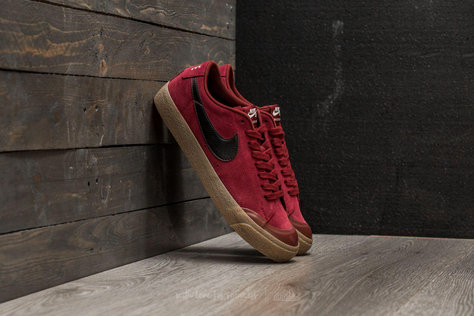 7b52e8000f80 Lyst - Nike Sb Blazer Zoom Low Xt Dark Team Red  Black in Red for Men