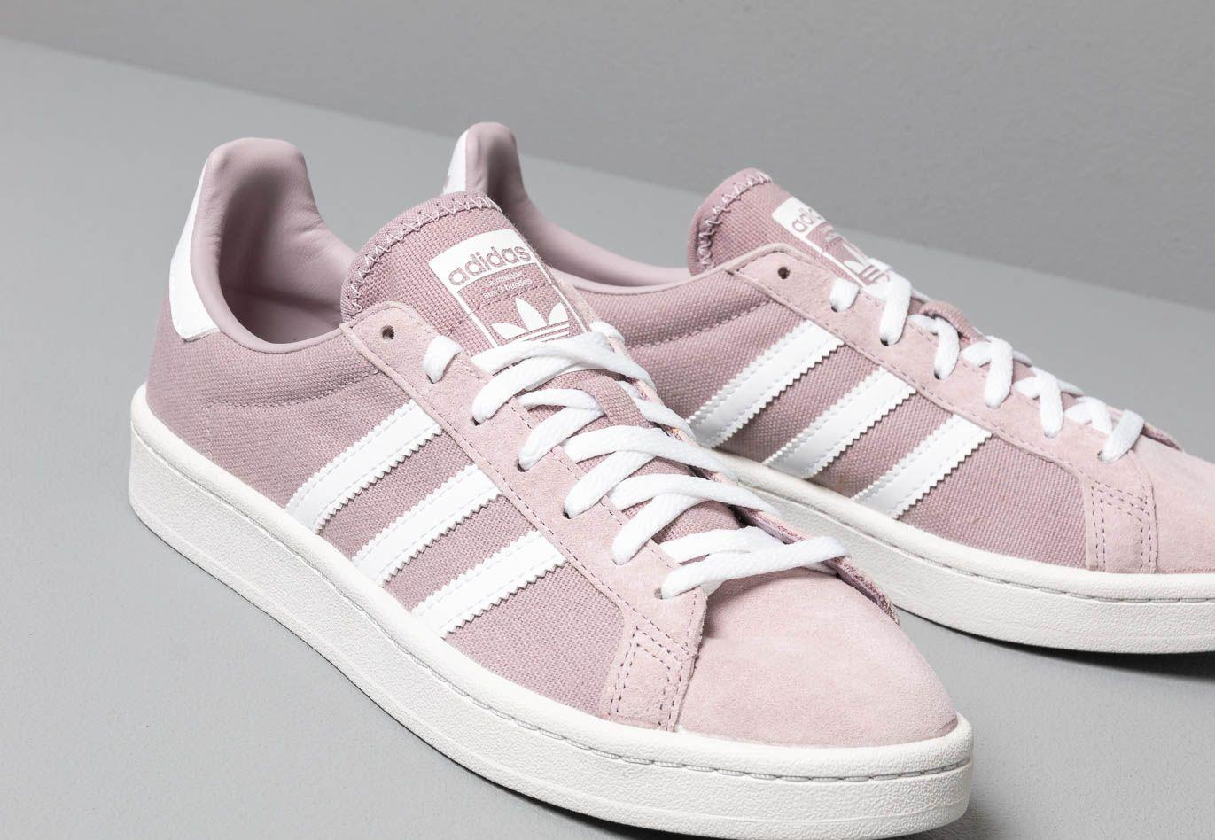 separation shoes a92b2 125e0 Adidas Originals - Adidas Campus W Soft Vision  Ftw White  Crystal White -  Lyst. View fullscreen
