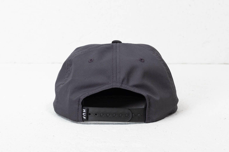 Lyst - Huf Bar Logo Snapback Charcoal in Gray for Men b1813bfa9580