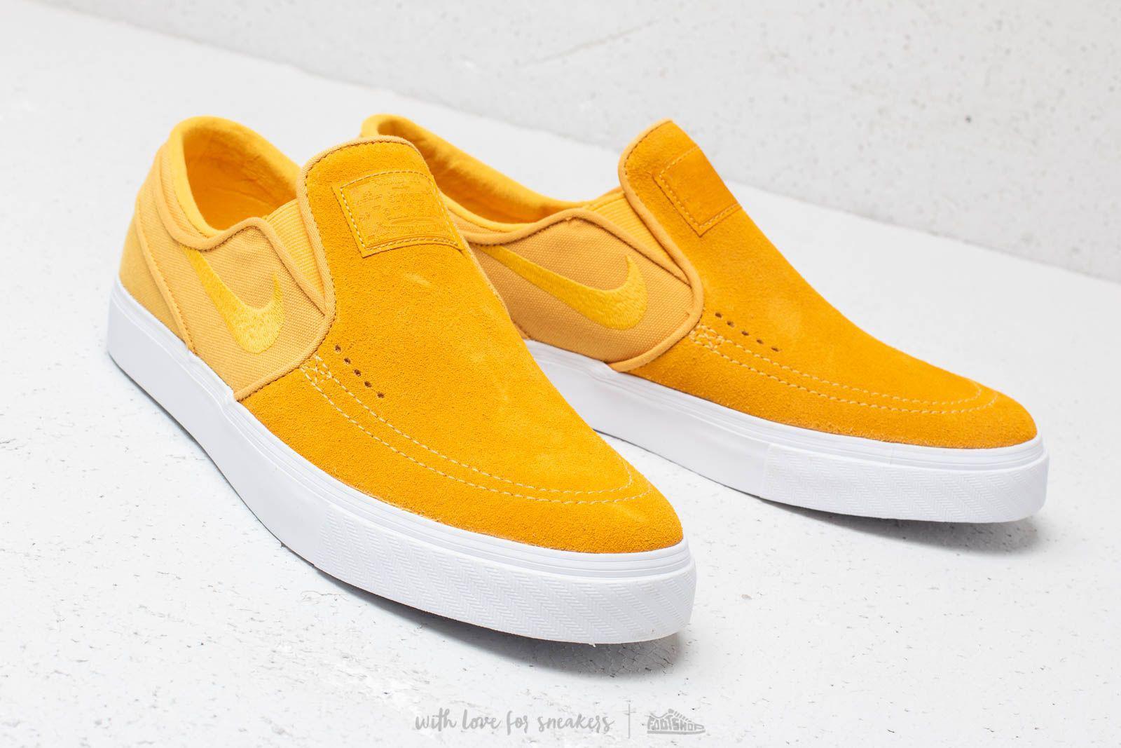 f37f278a2ecb8 Lyst - Nike Zoom Stefan Janoski Slip Yellow Ochre  Yellow Ochre ...