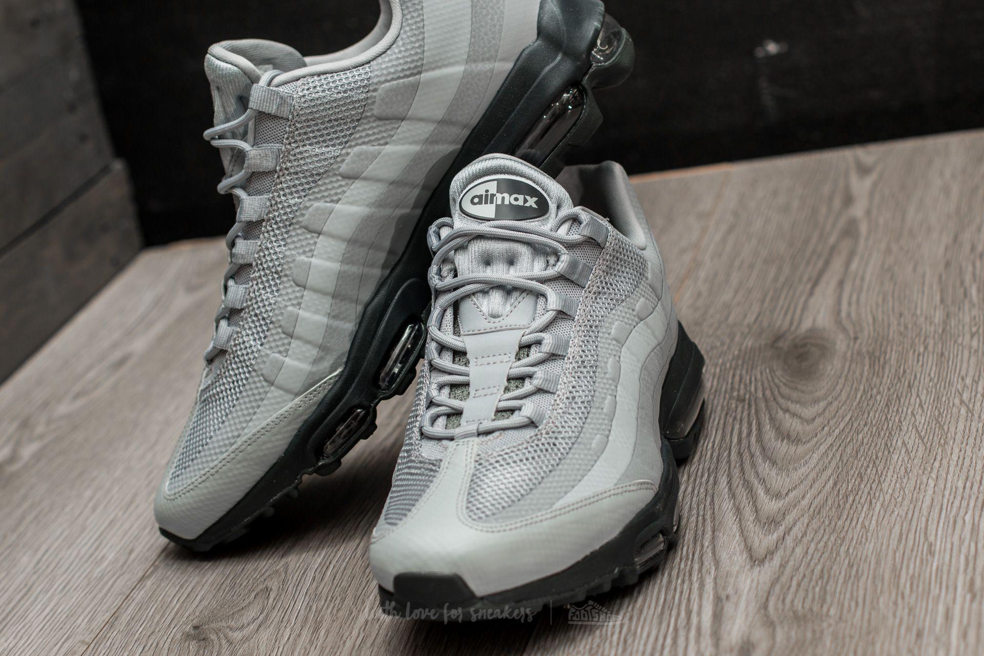 0e4316f5dfe Lyst - Nike Air Max 95 Ultra Essential Wolf Grey  Wolf Grey ...