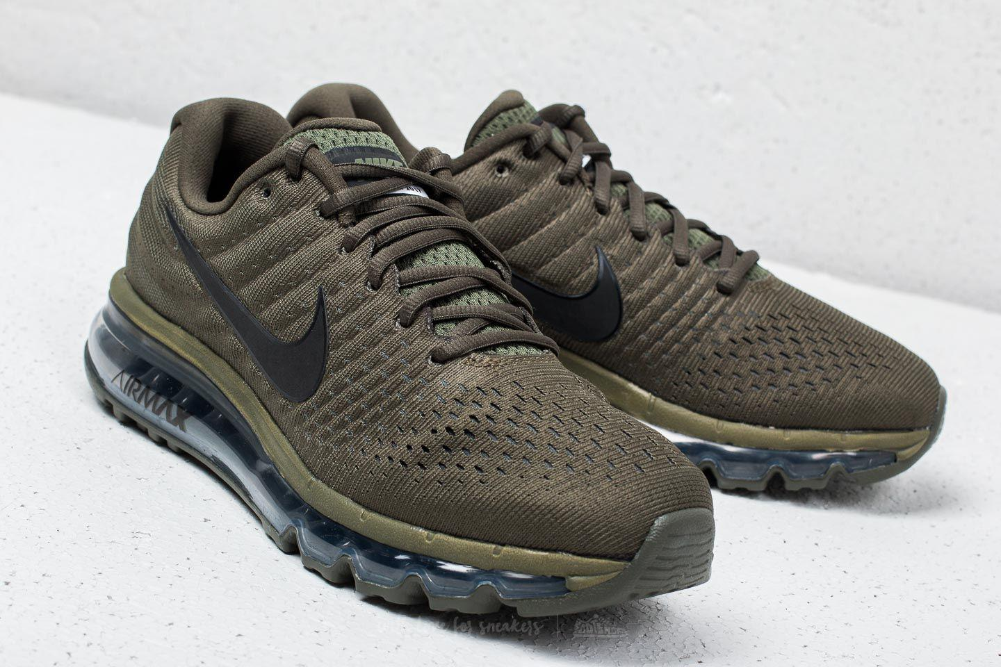 the best attitude 3eb9d 6d23f Nike Air Max 2017 Se Cargo Khaki  Black in Black for Men - Lyst