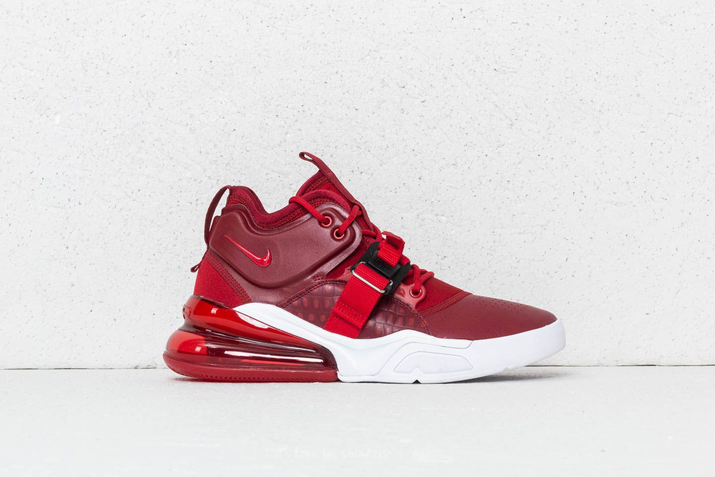 best sneakers 310b2 6999e Nike Air Force 270 Team Red/ Gym Red-white in Red for Men - Lyst