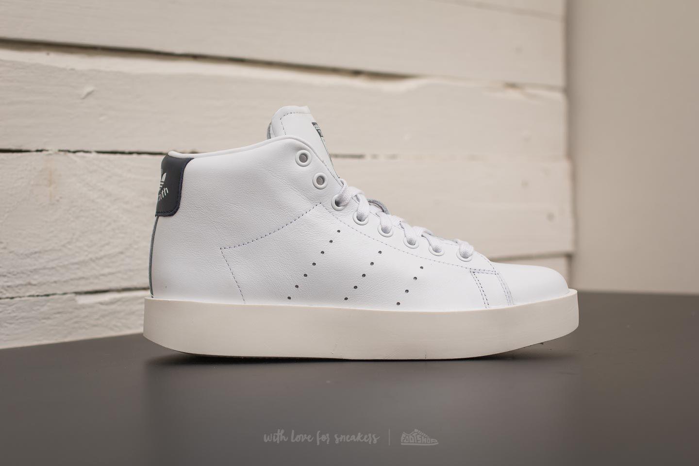 hot sale online 38ff3 41d62 Lyst - adidas Originals Adidas Stan Smith Bold Mid W Ftw Whi