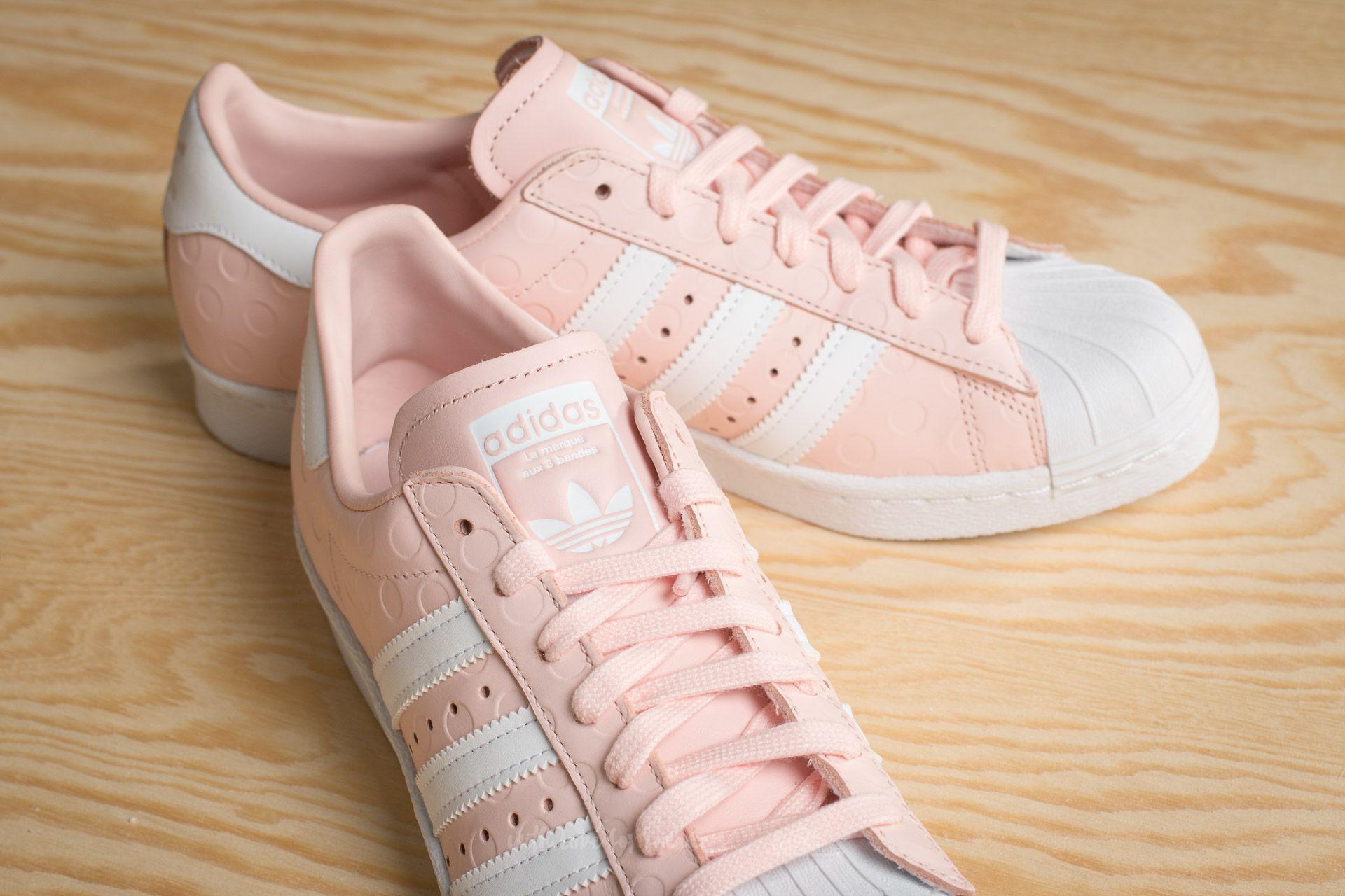 a71a26f2ab3925 Lyst - adidas Originals Adidas Superstar 80s W Icey Pink  Ftw White ...