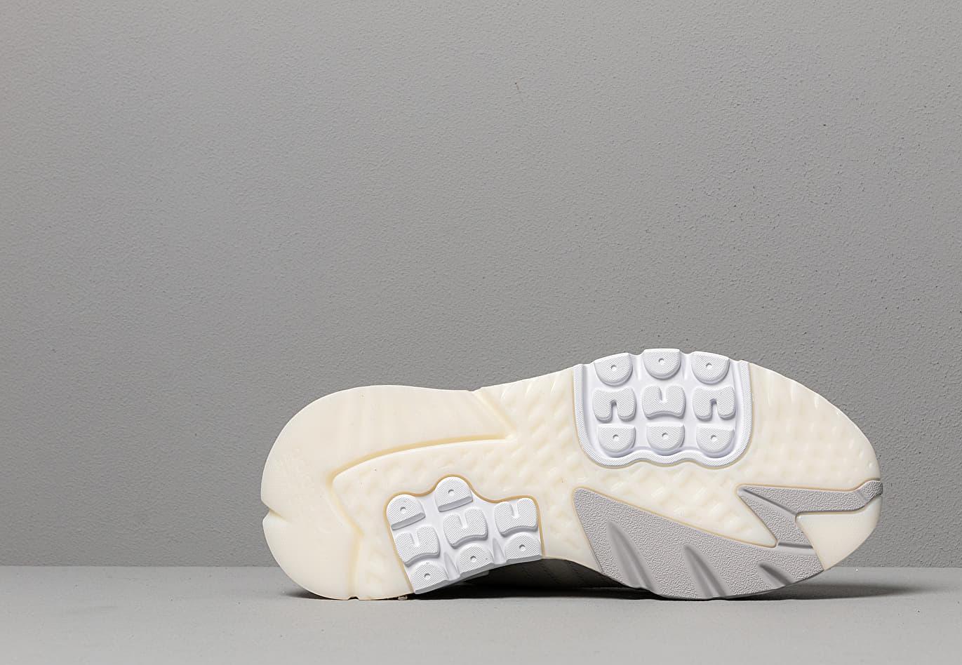 the best attitude 09c1a 67d1c Lyst - adidas Originals Adidas Nite Jogger Raw White  Grey One ...