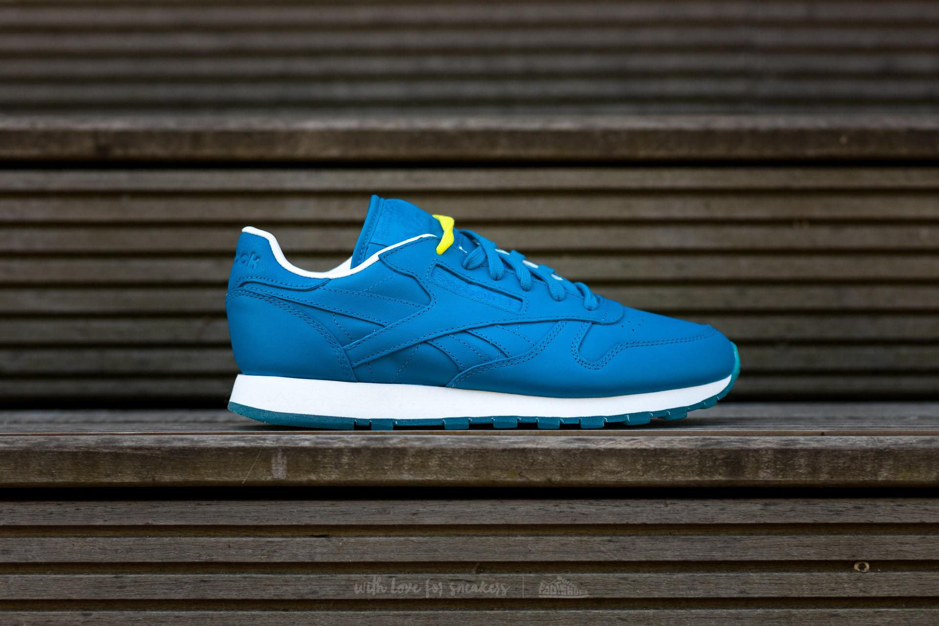 Reebok | Blue Classic Leather Face Dramatic/ Clarity/ Wonder for Men |  Lyst. View Fullscreen