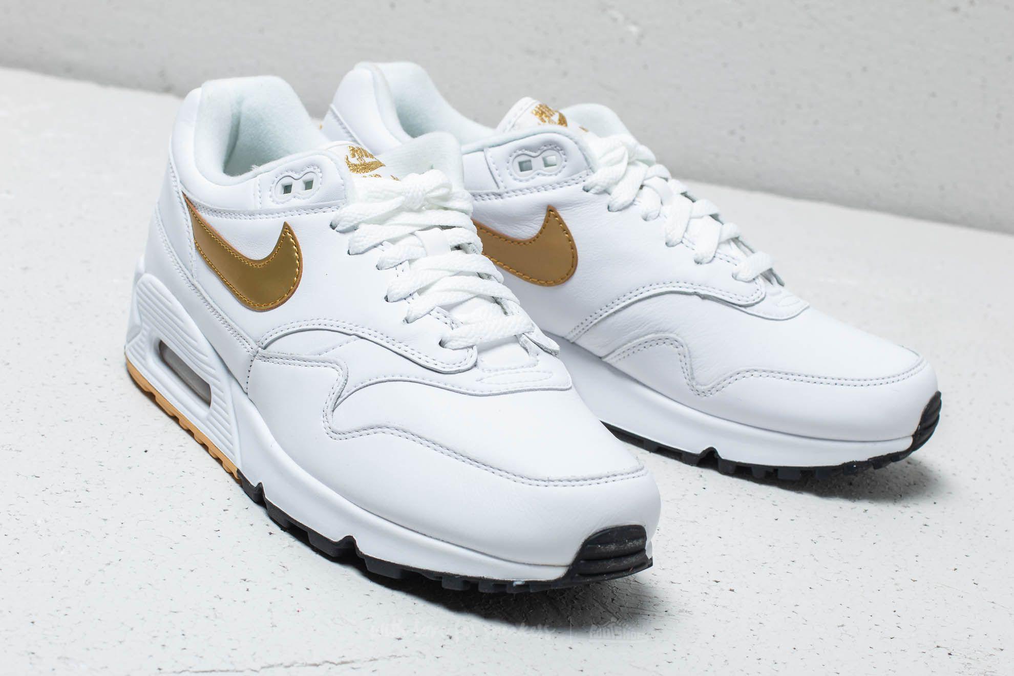 5f3680c0384c9 Lyst - Nike Air Max 90  1 White  Metallic Gold-black for Men