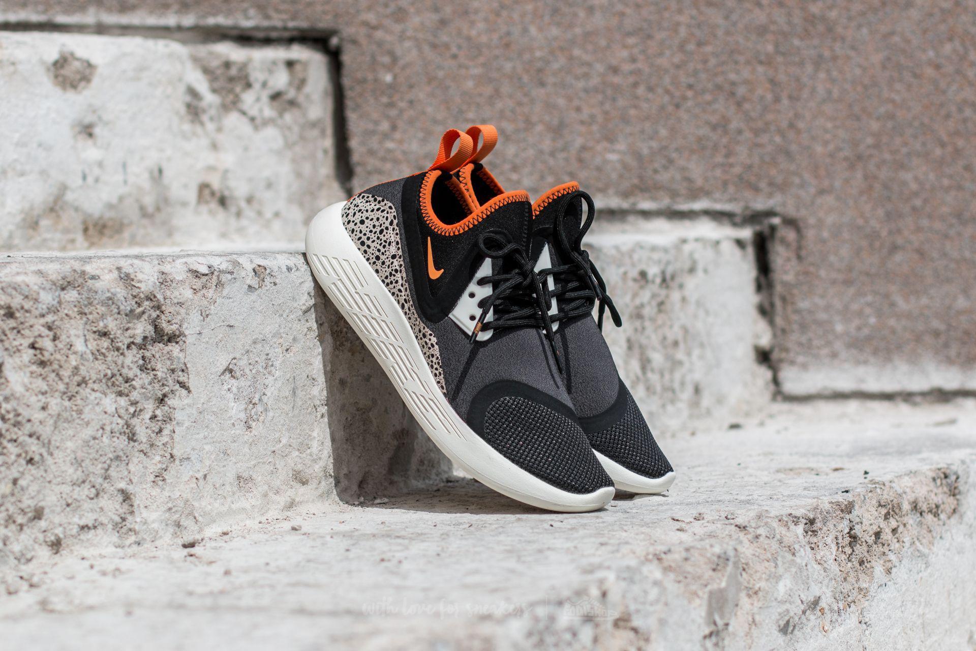 9d3c737c3007 Lyst - Nike Wmns Lunarcharge Bn Black  Clay Orange-sail