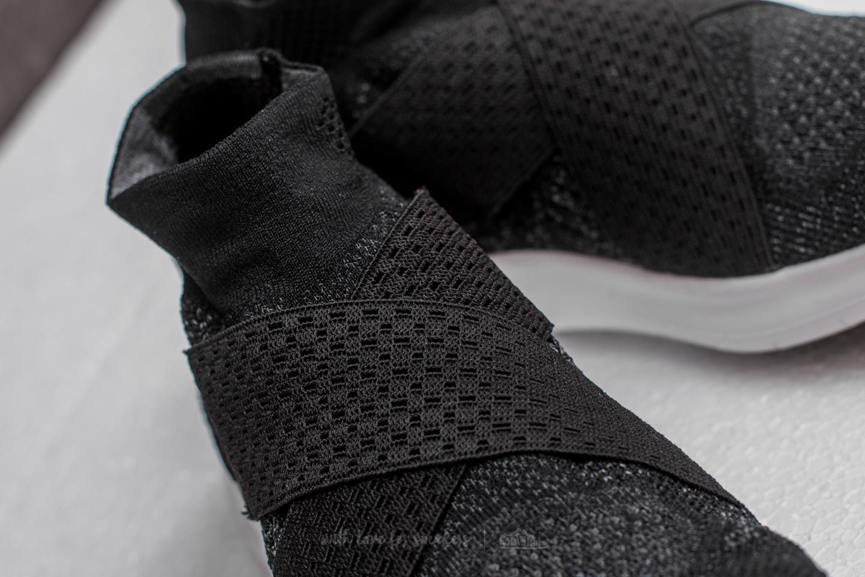 08c9be699c6a5 Lyst - Nike W Free Rn Motion Flyknit 2017 Black  White-dark Grey-volt