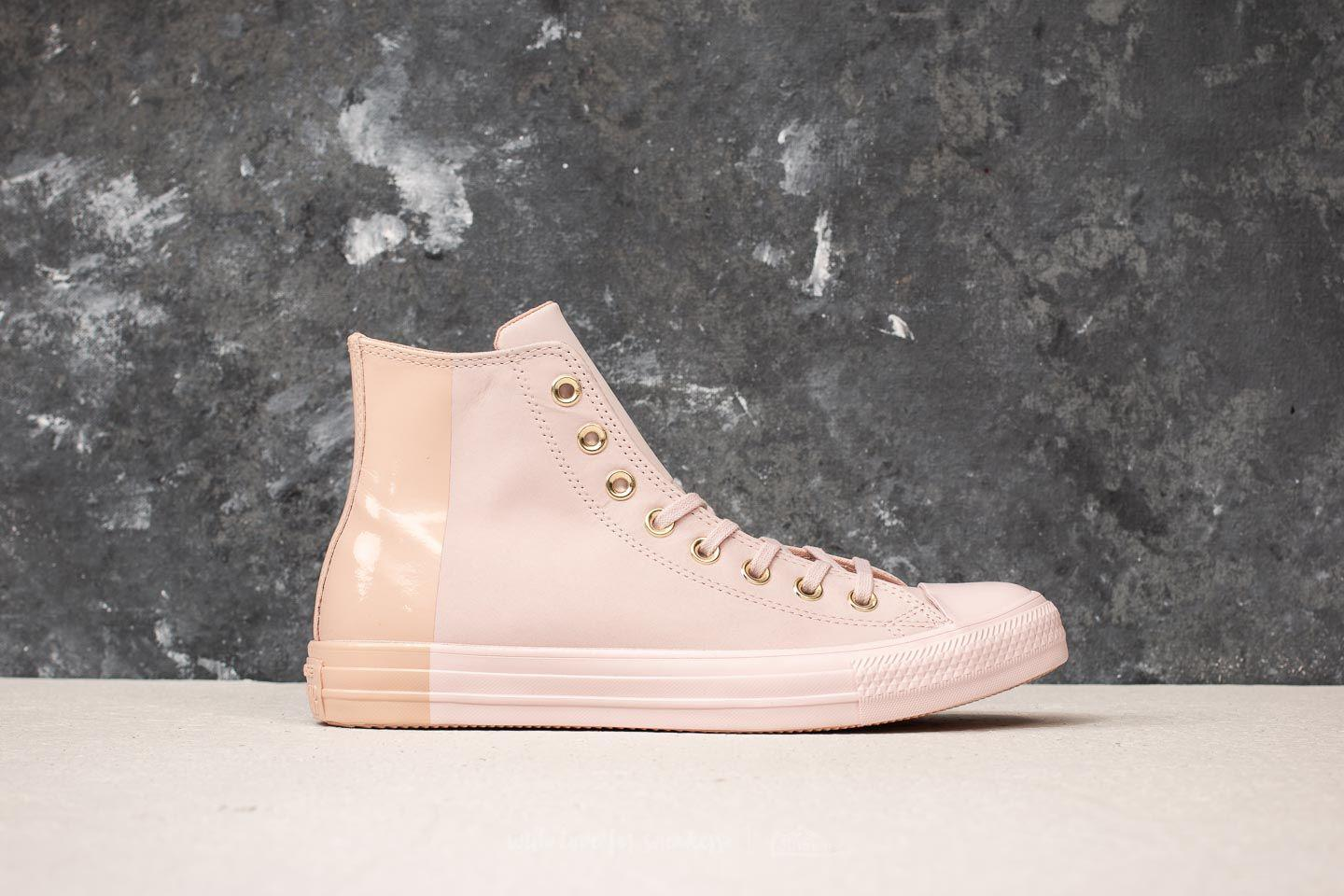 Lyst - Converse Chuck Taylor All Star Hi Barely Rose  Barely Rose in ... 12ea0157fb