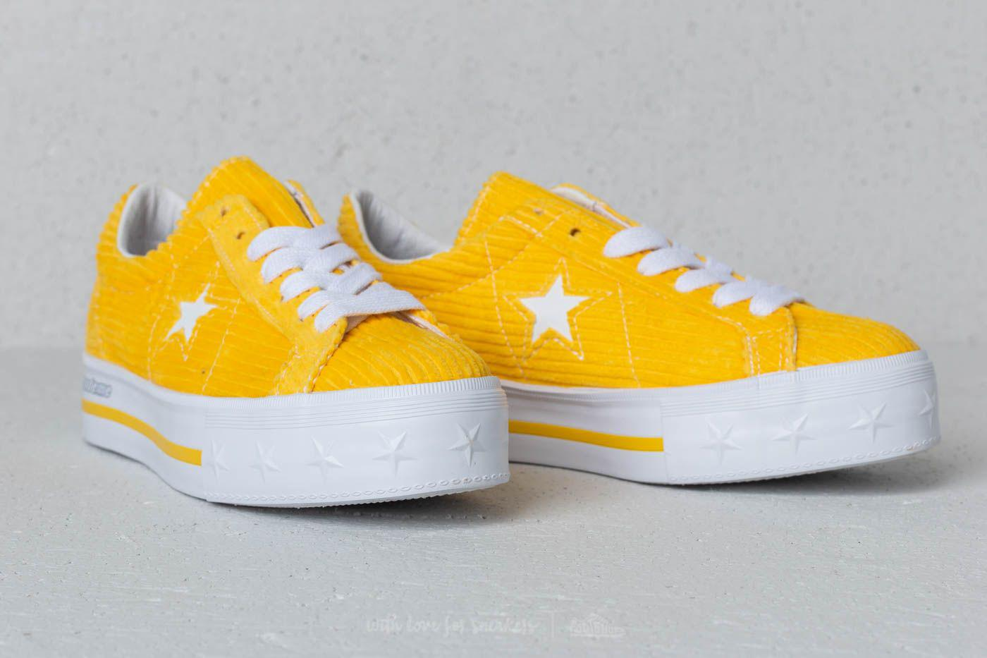 407be3c1e9f54f Gallery. Previously sold at  Footshop · Women s Yellow Shoes Women s Converse  Platform ...