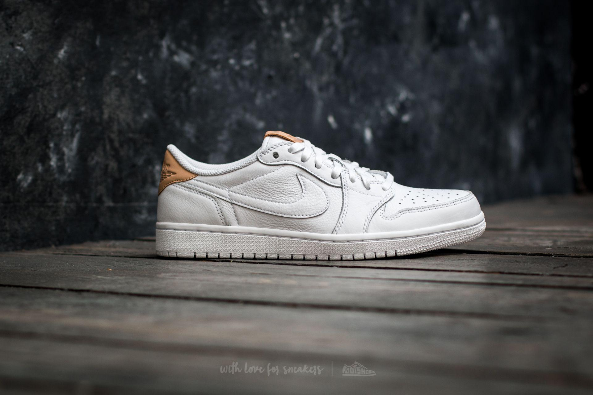 cc273ef2e545 Lyst - Nike Air 1 Retro Low Og Premium White  Vachetta Tan-white in ...