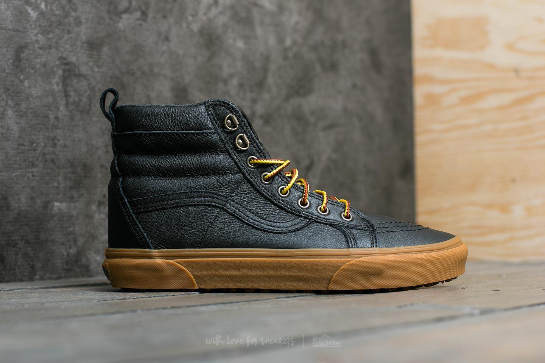 cd283824e04c5d Lyst - Vans Sk8-hi (mte) Black  Leather  Gum in Black for Men