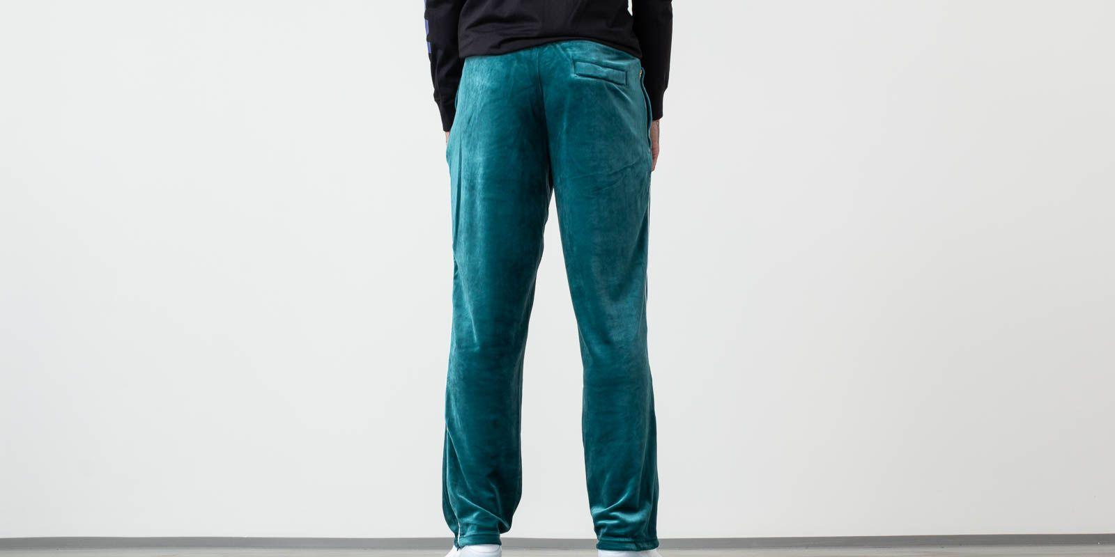 ed4b1b34f952a Lyst - Fila Cyrus Track Pants With Contrast Piping Athlantic Deep in ...