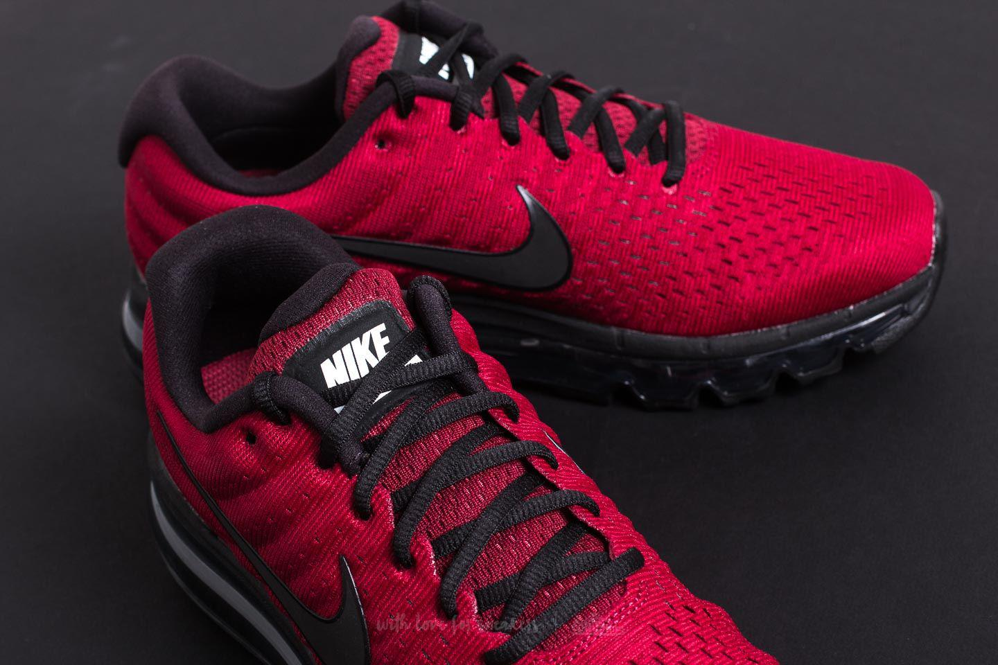 reputable site 35740 d6882 ... top quality lyst nike air max 2017 team red black dark grey in red for  men