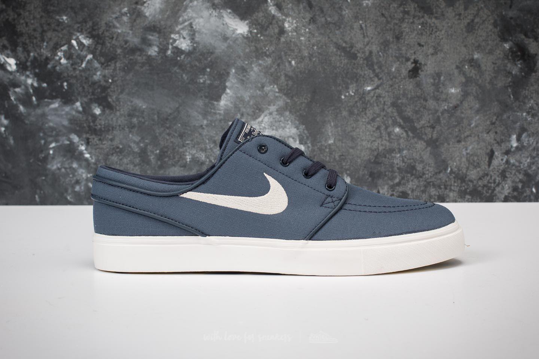 Lyst - Nike Zoom Stefan Janoski Canvas Thunder Blue  Light Bone in ... 116d193528b