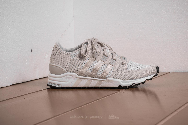 lyst adidas originals adidas eqt - primeknit pearl grey unterstützen