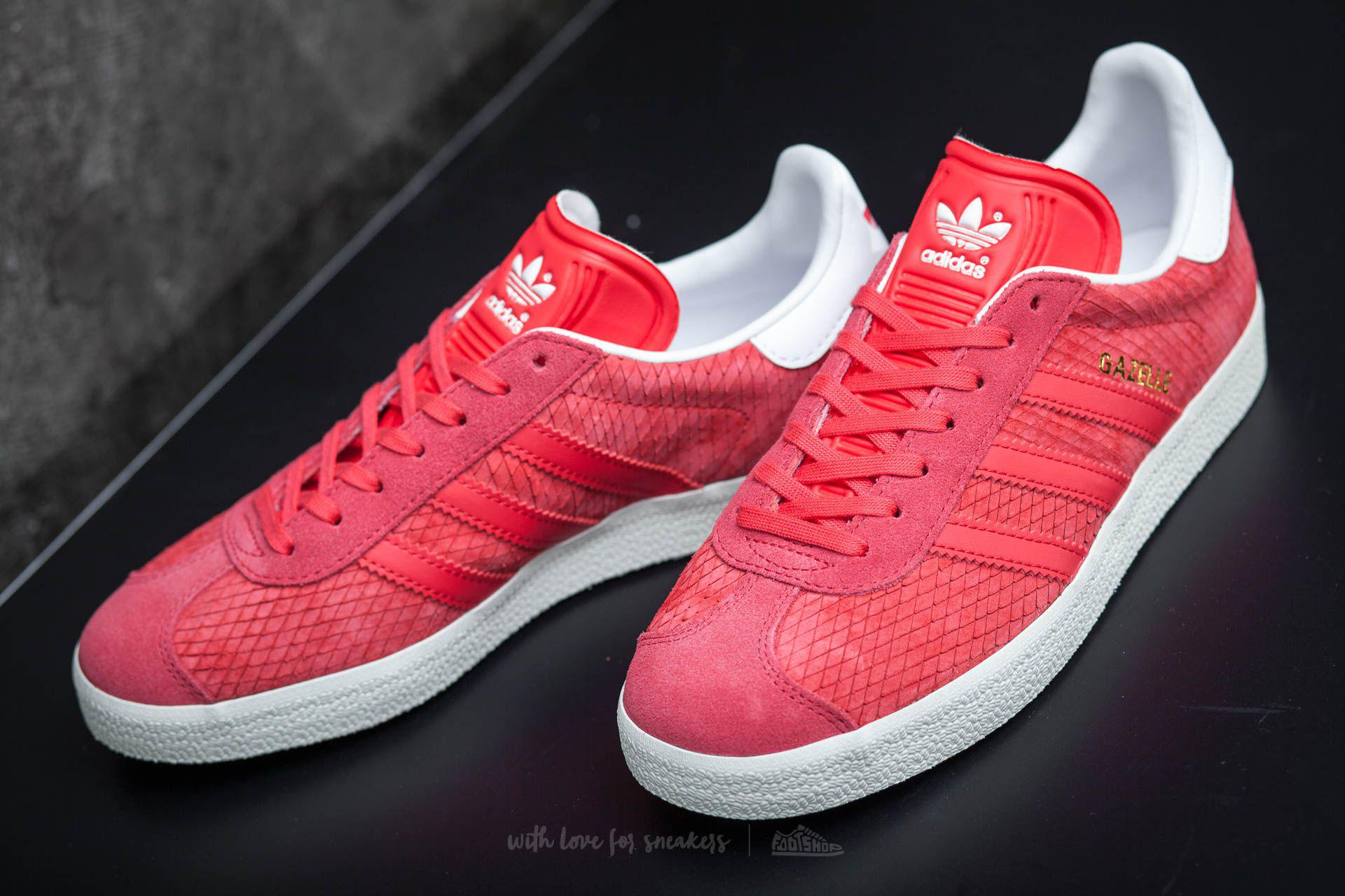 release date: 7dbd5 c9bd8 Lyst - adidas Originals Adidas Gazelle W Core Pink Off White