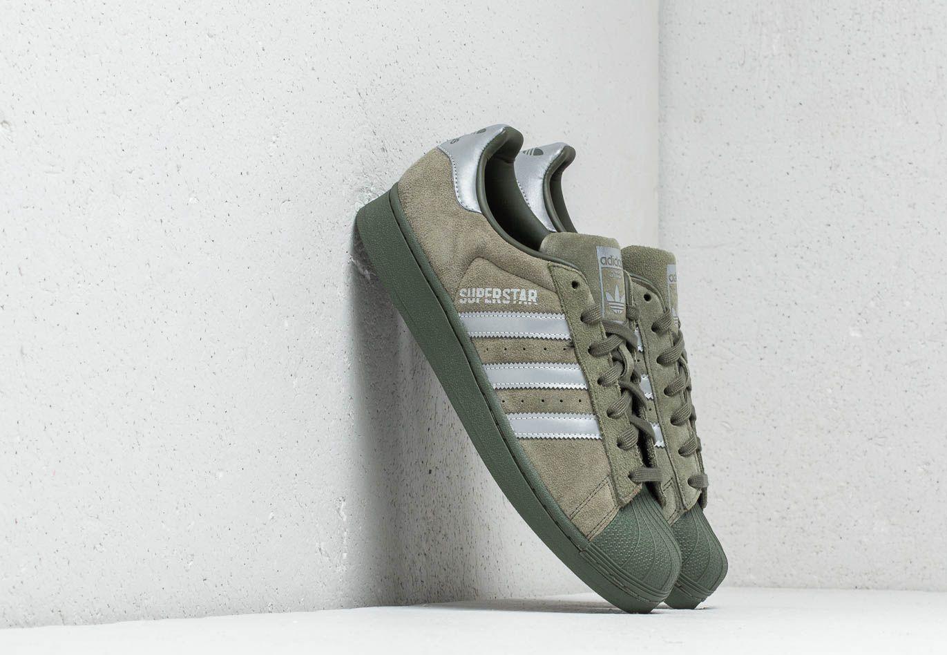abd74ce8823cc Lyst - adidas Originals Adidas Superstar Base Green  Black  Night ...
