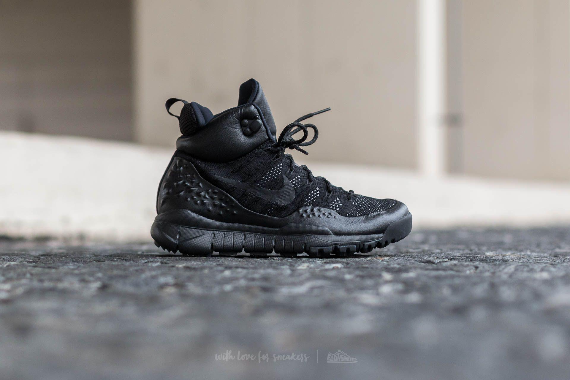 official photos 0e03e fdaf1 Lyst - Nike Wmns Lupinek Flyknit Black  Black-anthracite in Black