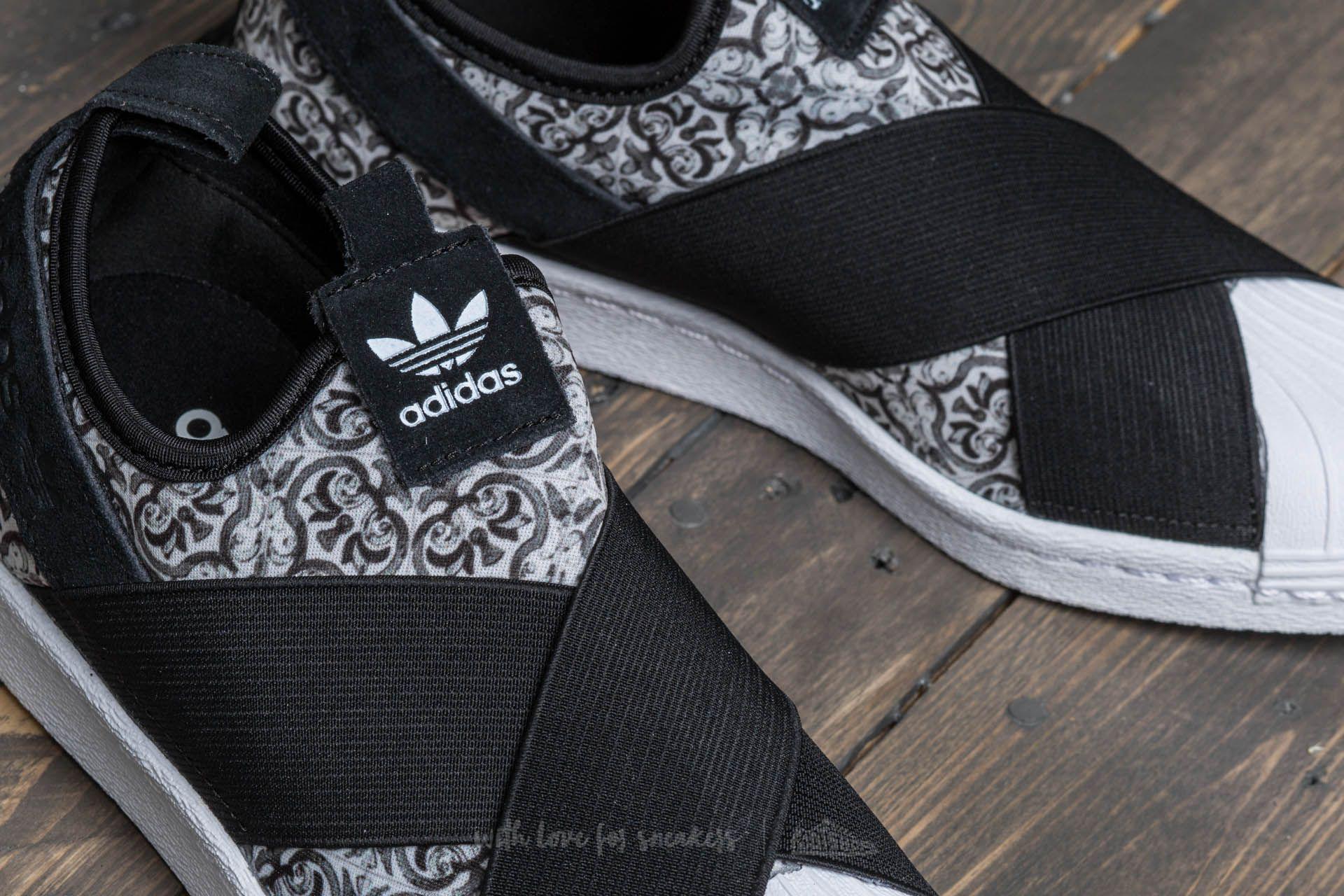 eda6e15ac Lyst - adidas Originals Adidas Superstar Slip On W Core Black  Core ...