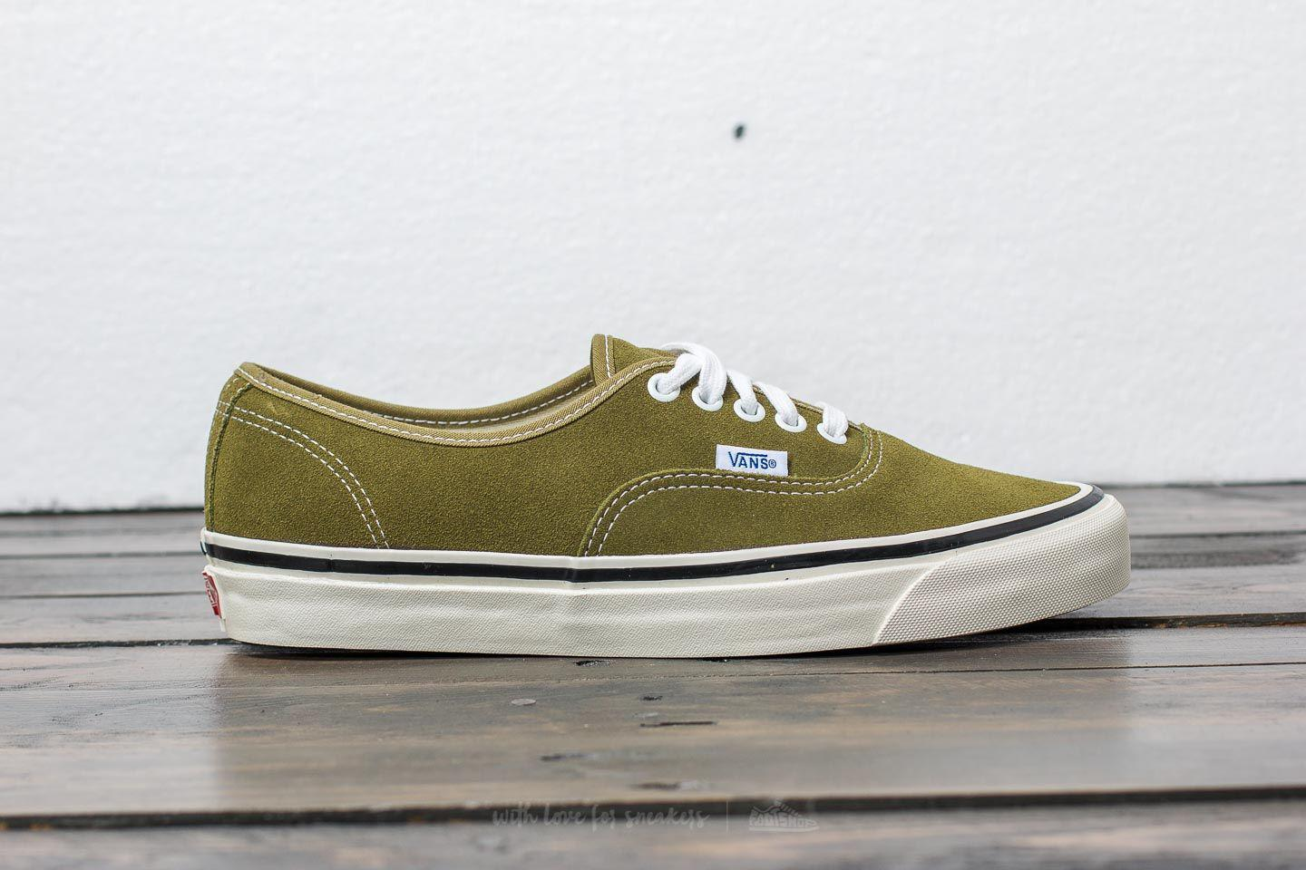 Lyst - Vans Authentic 44 Dx (anaheim Factory) Suede  Og Olive in ... 3c64d6e8bf