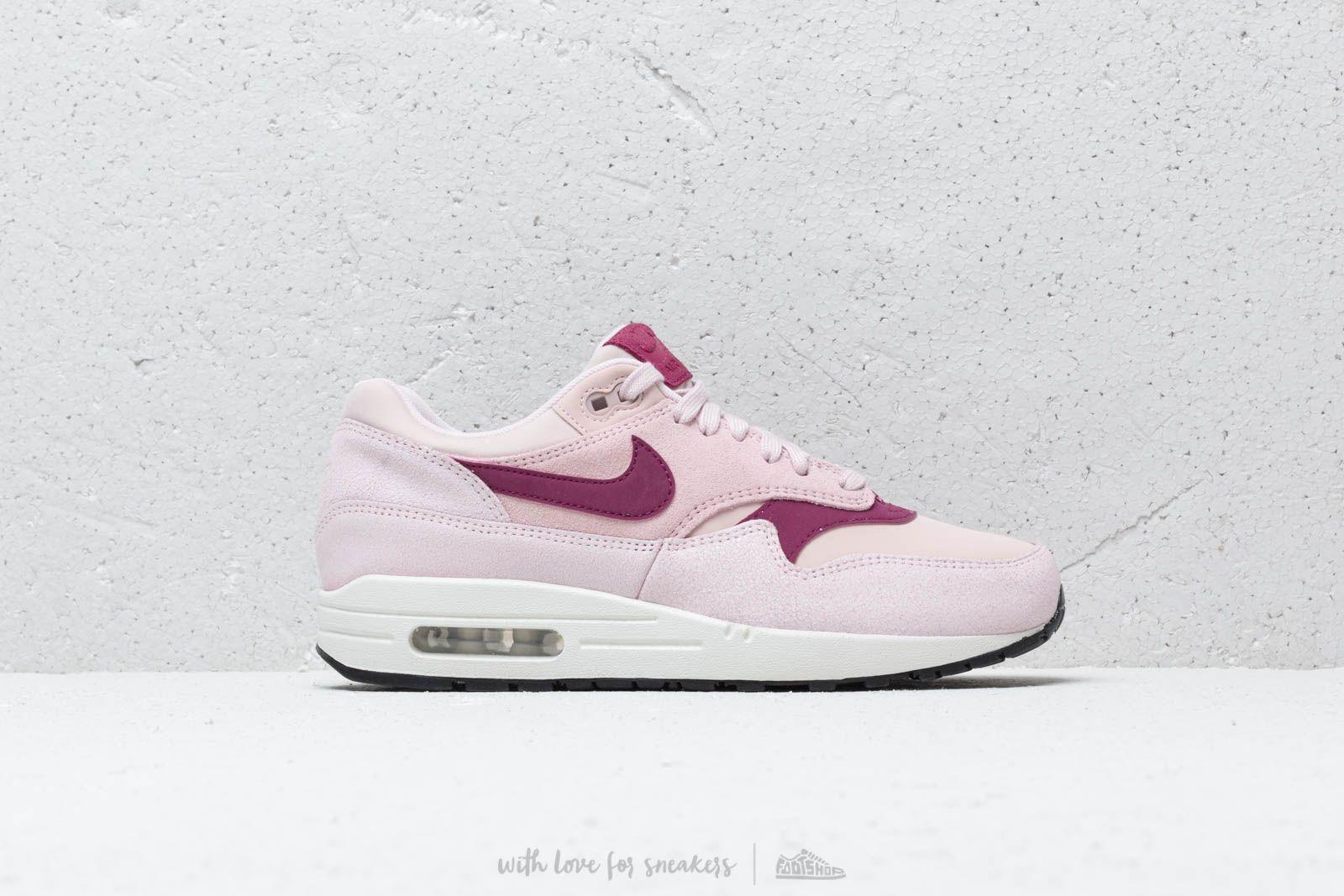 60ac8f57f0 Nike - Multicolor Wmns Air Max 1 Prm Barely Rose/ True Berry-summit White.  View fullscreen