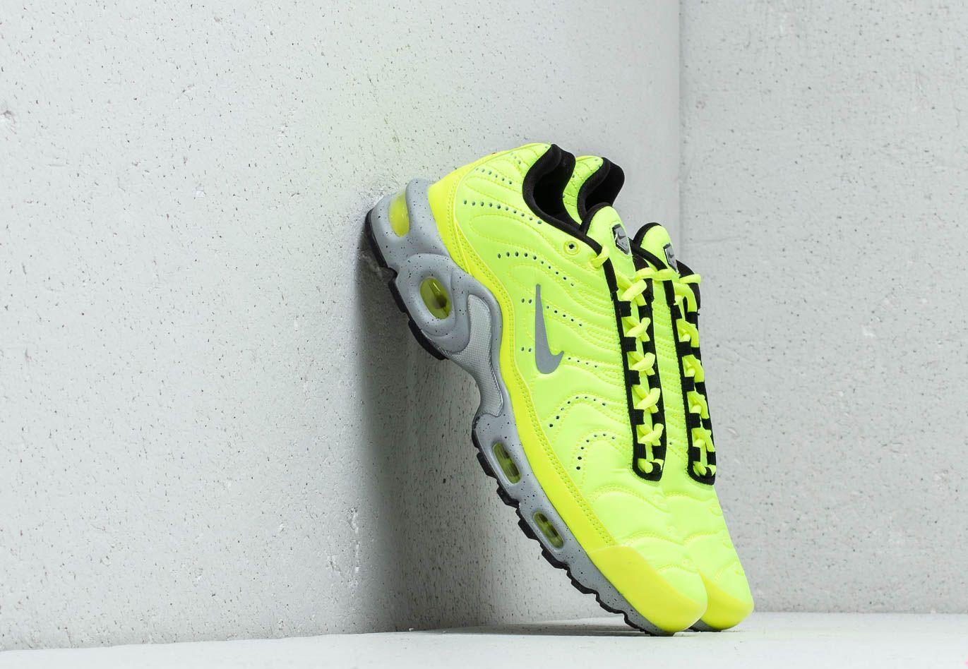 5061bc8796b4 Lyst - Nike Air Max Plus Premium Volt  Matte Silver-wolf Grey in ...