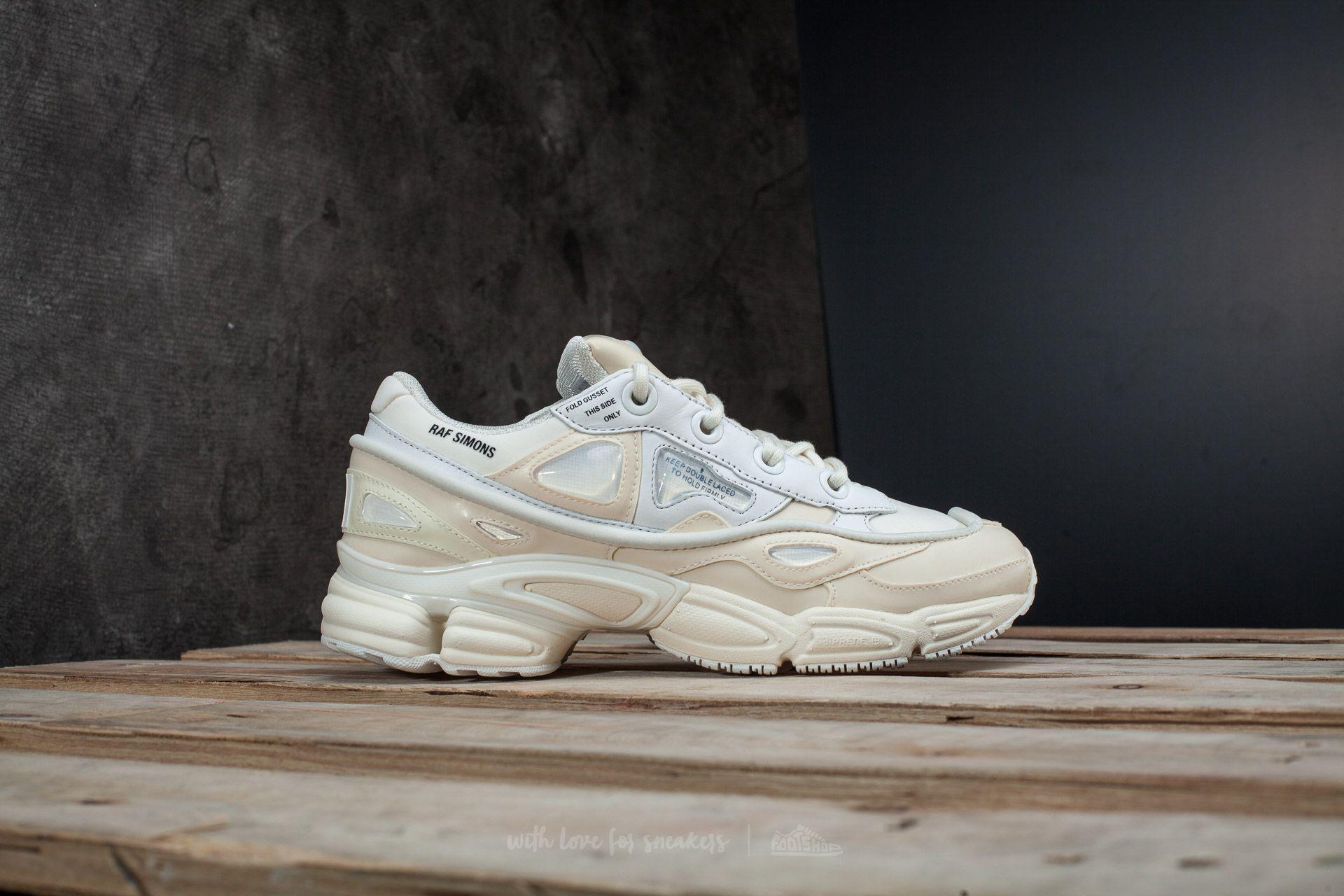 huge selection of 62e72 aa2a8 Lyst - Footshop Adidas X Raf Simons Ozweego Bunny Core White