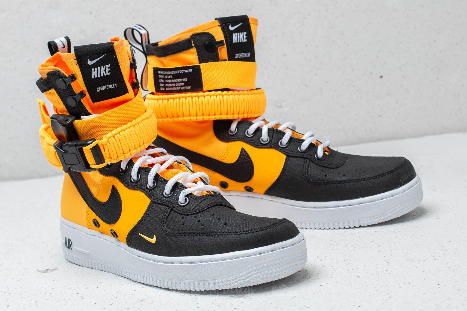 huge discount d53f8 8fae8 Nike Sf Air Force 1 Laser Orange  Black-white for Men - Lyst