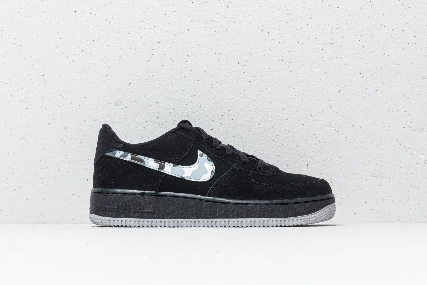 the latest 6c5b2 46d55 Lyst - Nike Air Force 1 (gs) Black  Wolf Grey-dark Grey in Gray for Men