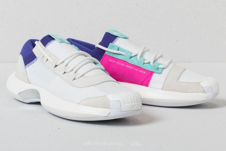be4b900dd15a Adidas Originals - X Nicekicks Crazy 1 Adv Core White  Off White  Energy  Aqua. View fullscreen